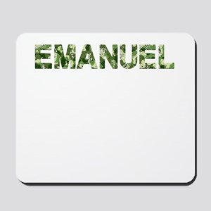 Emanuel, Vintage Camo, Mousepad