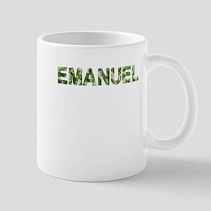 Emanuel, Vintage Camo, Mug