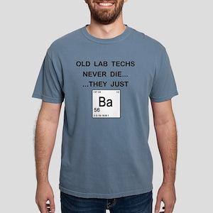 Old Lab Techs copy Mens Comfort Colors Shirt