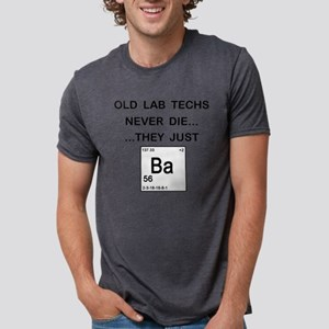 Old Lab Techs copy Mens Tri-blend T-Shirt
