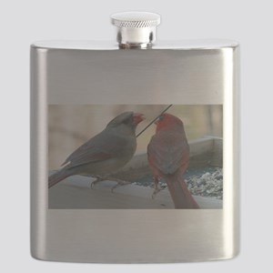 Cant Hear Ya with Your Mouth Full Flask
