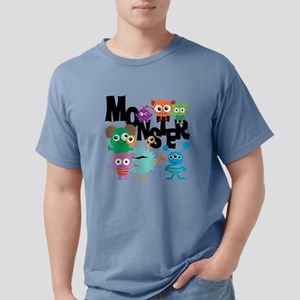 Monsters Mens Comfort Colors Shirt