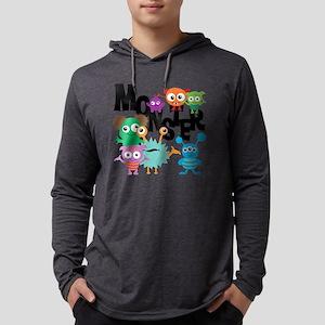 Monsters Mens Hooded Shirt
