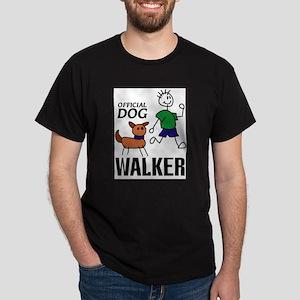 """""""Official Dog Walker"""" T-Shirt"""