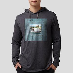 Logan Temple Oil Painting Mens Hooded Shirt