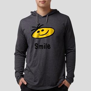 smile Mens Hooded Shirt