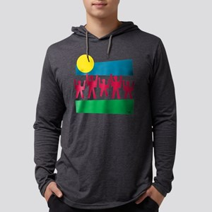 unity1 Mens Hooded Shirt