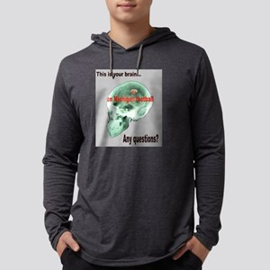 this is your brain2 Mens Hooded Shirt