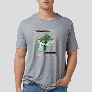 this is your brain2 Mens Tri-blend T-Shirt