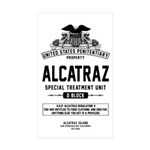 Alcatraz S.T.U. Sticker (Rectangle 10 pk)