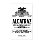 Alcatraz S.T.U. Sticker (Rectangle)