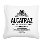 Alcatraz S.T.U. Square Canvas Pillow
