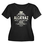 Alcatraz S.T.U. Women's Plus Size Scoop Neck Dark