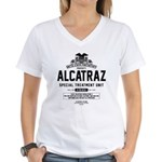 Alcatraz S.T.U. Women's V-Neck T-Shirt
