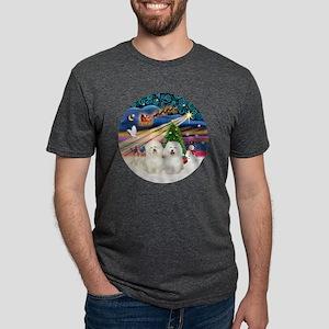 Xmas Magic - Bolognese (two Mens Tri-blend T-Shirt
