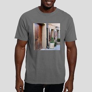 Carcassonne village tile Mens Comfort Colors Shirt