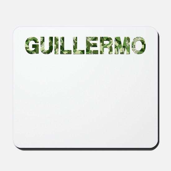 Guillermo, Vintage Camo, Mousepad