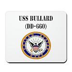 USS BULLARD Mousepad