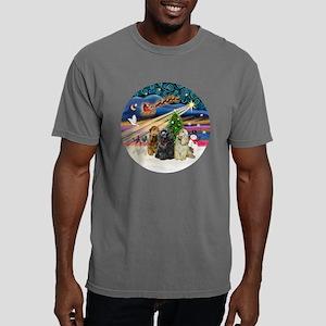 Xmas Magic - Cocker Span Mens Comfort Colors Shirt