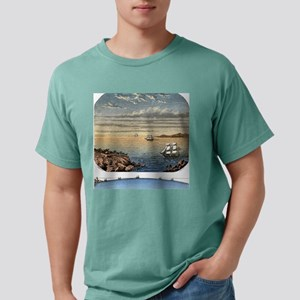 Curvature of the surface Mens Comfort Colors Shirt