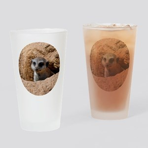 Meerkat Drinking Glass