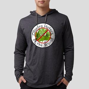 CHOW Logo trans Mens Hooded Shirt