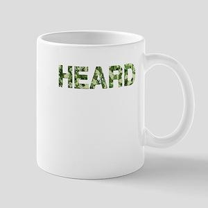 Heard, Vintage Camo, Mug