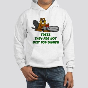 Chain Saw Beaver Hooded Sweatshirt