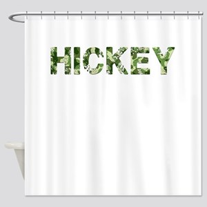 Hickey, Vintage Camo, Shower Curtain