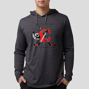 2-HockeySticksShirt Mens Hooded Shirt