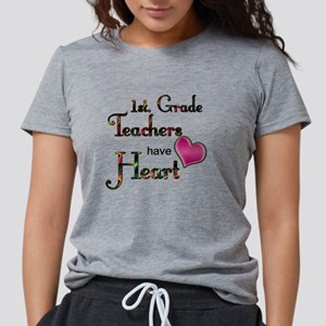 Teachers Have Heart 1 Womens Tri-blend T-Shirt