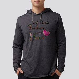 Teachers Have Heart 2 copy Mens Hooded Shirt