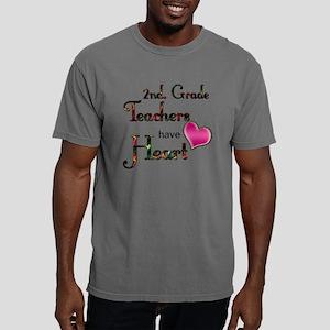 Teachers Have Heart 2 co Mens Comfort Colors Shirt