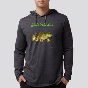 gods-wonders-frog-black Mens Hooded Shirt
