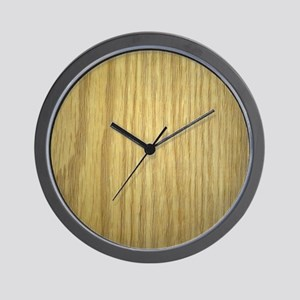 Blond wood Wall Clock