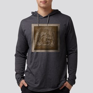 Nativity of Jesus Mens Hooded Shirt