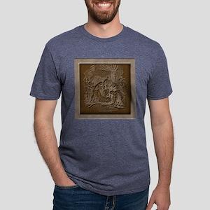 Nativity of Jesus Mens Tri-blend T-Shirt