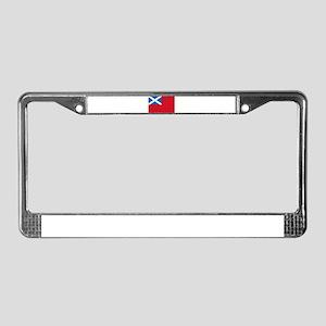 Flag - Scottish Navy License Plate Frame