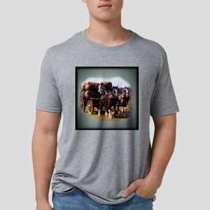 clydesdale_team_pillow Mens Tri-blend T-Shirt