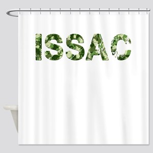 Issac, Vintage Camo, Shower Curtain