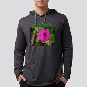 gods-wonders-pink-flower Mens Hooded Shirt