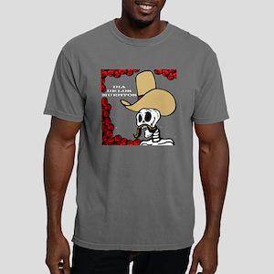 Dia.De.Los.Muertos.Cowbo Mens Comfort Colors Shirt