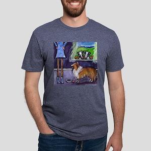 sheltiefood Mens Tri-blend T-Shirt