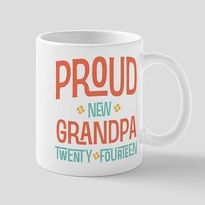 Proud New Grandpa 2014 Mug