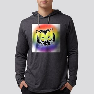Cat Mask copy Mens Hooded Shirt