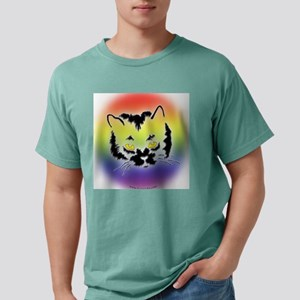 Cat Mask copy Mens Comfort Colors Shirt