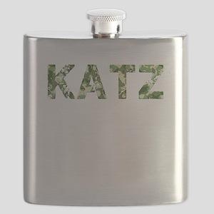 Katz, Vintage Camo, Flask