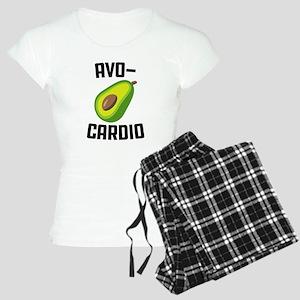 Avo-Cardio Avocado Emoji Women's Light Pajamas