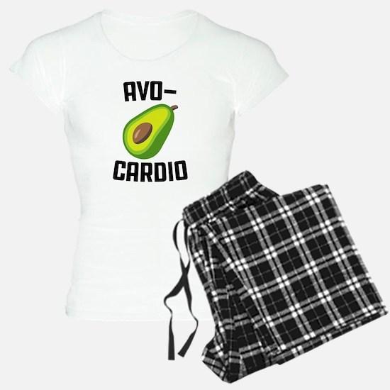 Avo-Cardio Avocado Emoji Pajamas