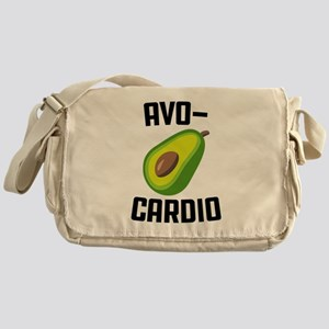 Avo-Cardio Avocado Emoji Messenger Bag